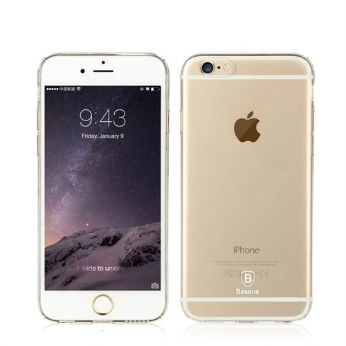 Baseus Kny Apple İphone 6 Plus/6S Plus İllusion Serisi Renkli Silikon Kılıf