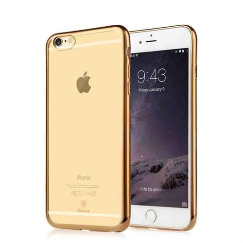 Baseus Kny Apple İphone 6/6S Renkli Kenarlı Silikon Kılıf