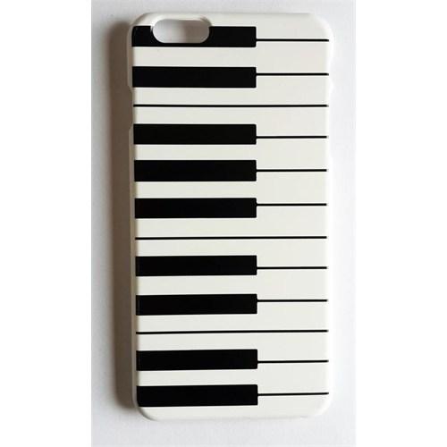Köstebek Piyano Desenli İphone 6 Plus Telefon Kılıfı