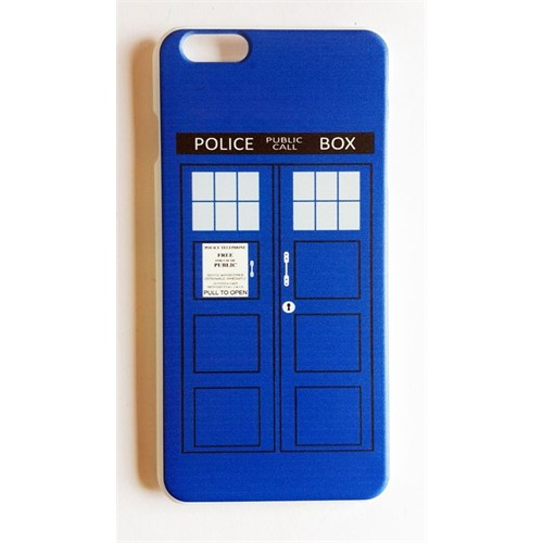 Köstebek Dr. Who - Tardis İphone 6 Plus Telefon Kılıfı