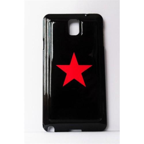 Köstebek Kızıl Yıldız Samsung Note 3 Telefon Kılıfı