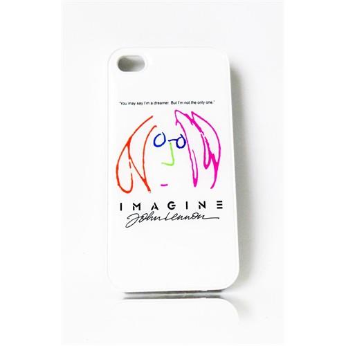 Köstebek John Lennon - Imagine İphone 4 - 4S Telefon Kılıfı