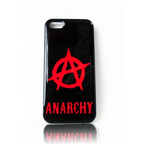 Köstebek Anarchy İphone 5 Telefon Kılıfı