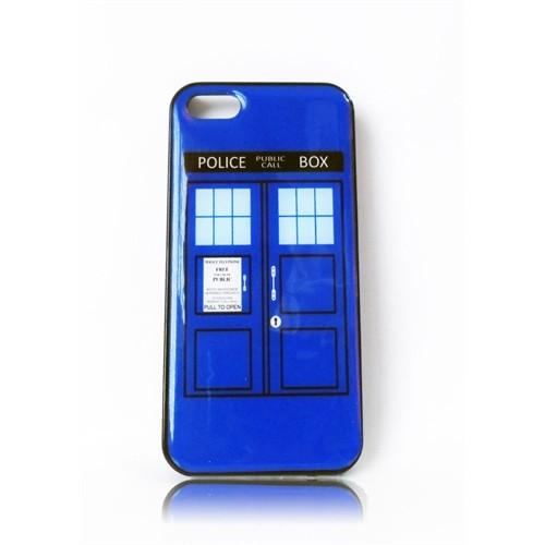 Köstebek Doctor Who - Tardis İphone 5 Telefon Kılıfı