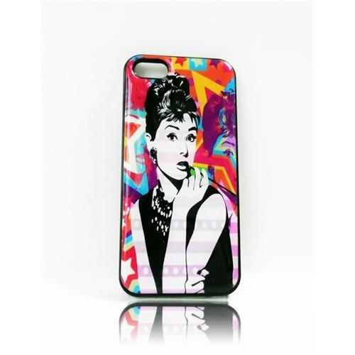 Köstebek Audrey Hepburn İphone 5 Telefon Kılıfı