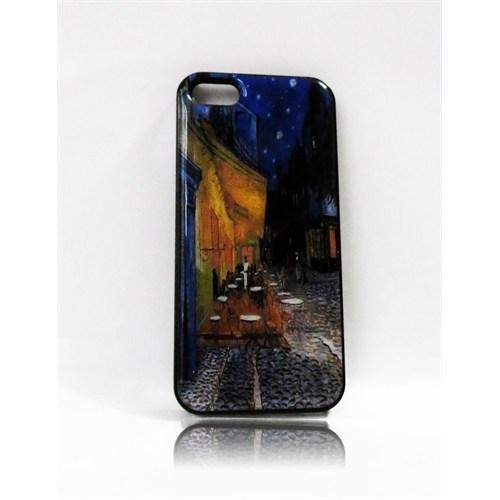Köstebek Van Gogh - Cafe Terrace İphone 5 Telefon Kılıfı