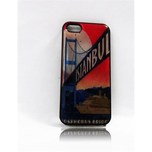 Köstebek Istanbul Bosphorus Bridge İphone 5 Telefon Kılıfı