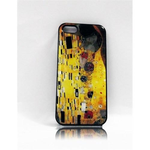 Köstebek Gustav Klimt - The Kiss İphone 5 Telefon Kılıfı