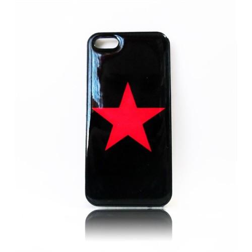 Köstebek Kızıl Yıldız İphone 5 Telefon Kılıfı
