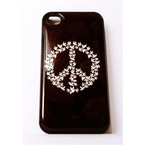 Köstebek Peace İphone 5 Telefon Kılıfı