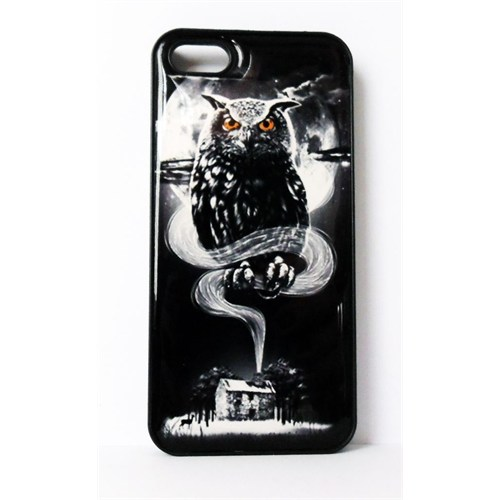Köstebek The Owl - Baykuş İphone 5 Telefon Kılıfı
