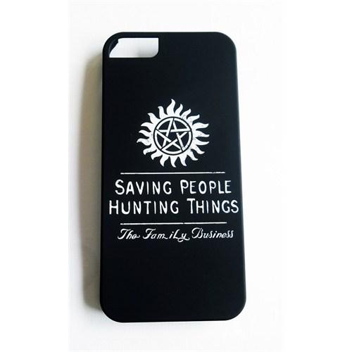 Köstebek Supernatural - The Family Business İphone 5 Telefon Kılıfı
