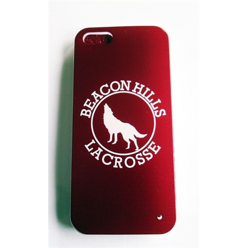 Köstebek Teen Wolf - Beacon Hills Lacrosse İphone 5 Telefon Kılıfı