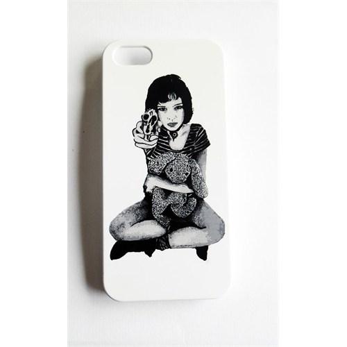 Köstebek Mathilda İphone 5 Telefon Kılıfı