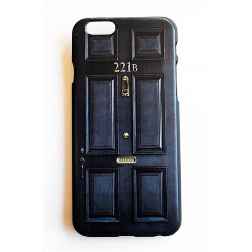 Köstebek Sherlock - 221B Baker Street Door İphone 5 Telefon Kılıfı