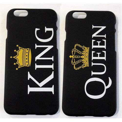 Köstebek King & Queen İphone 6 Sevgili Telefon Kılıfı