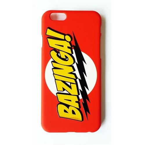 Köstebek The Big Bang Theory - Bazinga İphone 6 Telefon Kılıfı