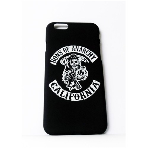 Köstebek Sons Of Anarchy Logo İphone 6 Telefon Kılıfı