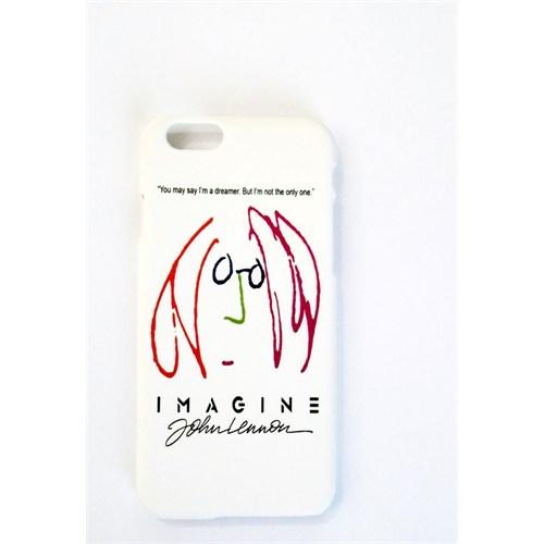 Köstebek John Lenon - Imagine İphone 6 Telefon Kılıfı