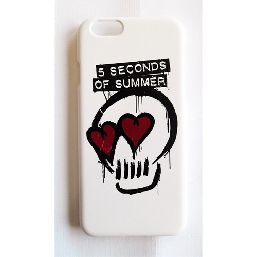Köstebek 5 Seconds Of Summer - 5Sos Skull İphone 6 Telefon Kılıfı