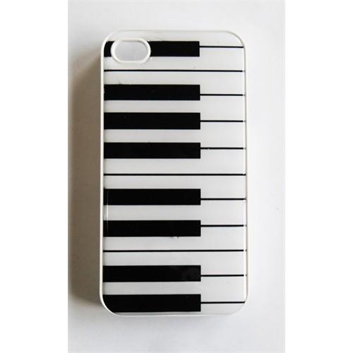 Köstebek Piyano Desenli İphone 6 Telefon Kılıfı