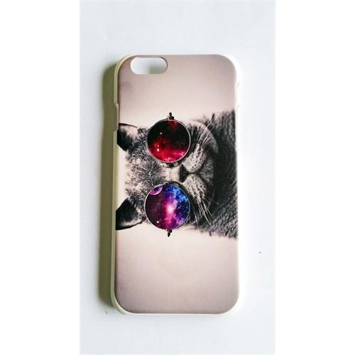 Köstebek Galaxy Cat İphone 6 Telefon Kılıfı