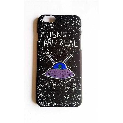 Köstebek Aliens Are Real İphone 6 Telefon Kılıfı