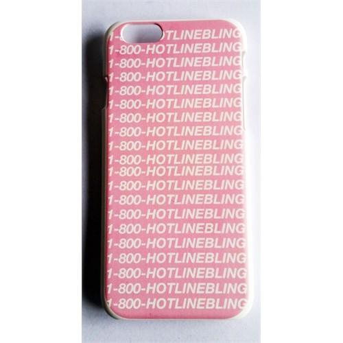 Köstebek Drake 1-800 Hotline Bling İphone 6 Telefon Kılıfı