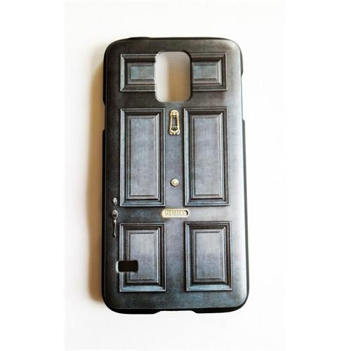 Köstebek Samsung S5 Sherlock - 221B Baker Street Door Telefon Kılıfı