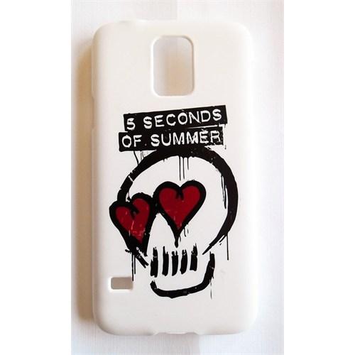 Köstebek Samsung S5 5 Seconds Of Summer - 5Sos Skull Telefon Kılıfı