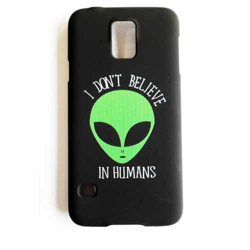 Köstebek Samsung S5 Alien - I Don't Believe In Humans Telefon Kılıfı