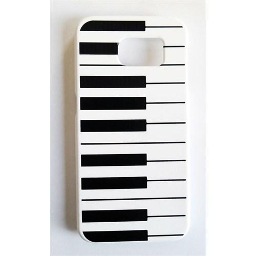 Köstebek Samsung S6 Piyano Desenli Telefon Kılıfı