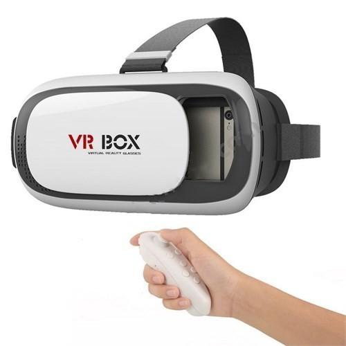 Cyber 3.0 Vr Box Virtual Reality 3D Sanal Gerçeklik Gözlüğü + Bluetooth Kumanda