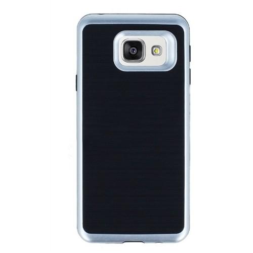 Kılıfshop Samsung Galaxy S7 Edge Kılıf Infinity Motomo (Gümüş)