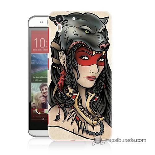 Teknomeg Htc Desire Eye Kapak Kılıf Pocahontas Baskılı Silikon