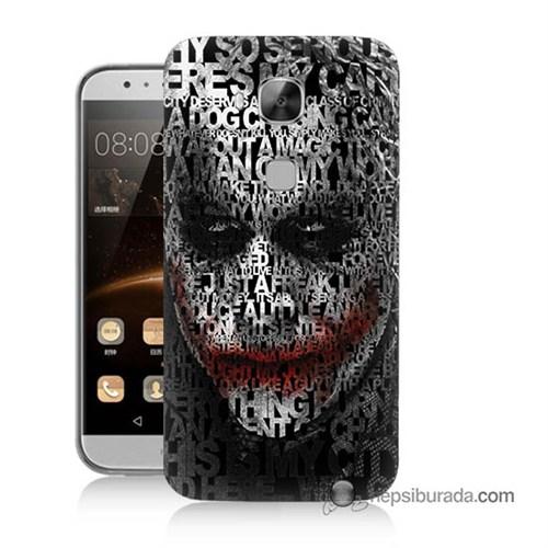 Teknomeg Huawei Ascend G8 Kapak Kılıf Joker Baskılı Silikon
