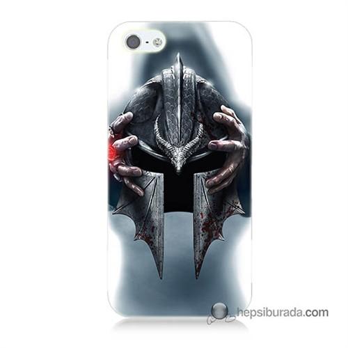 Teknomeg İphone 5 Kılıf Kapak Assassins Creed Baskılı Silikon