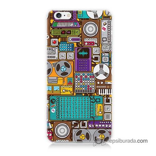 Teknomeg İphone 6S Kılıf Kapak Teknoloji Baskılı Silikon