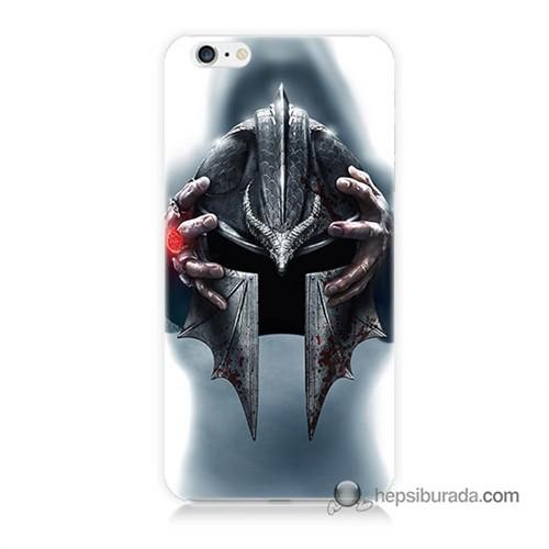 Teknomeg İphone 6S Kılıf Kapak Assassins Creed Baskılı Silikon
