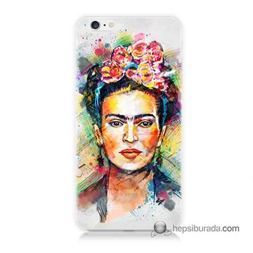 Teknomeg İphone 6S Plus Kapak Kılıf Frida Baskılı Silikon