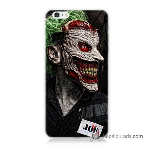 Teknomeg İphone 6S Plus Kapak Kılıf Joker Joe Baskılı Silikon