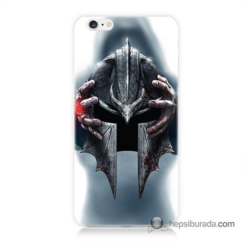 Teknomeg İphone 6S Plus Kılıf Kapak Assassins Creed Baskılı Silikon