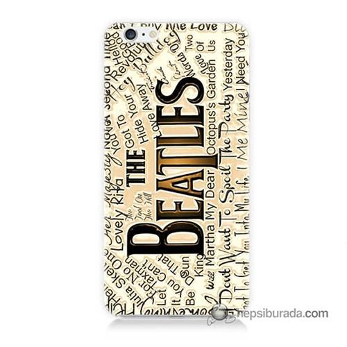 Teknomeg İphone 6S Kılıf Kapak The Beatles Baskılı Silikon