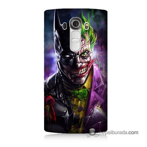 Teknomeg Lg G4 Beat Kılıf Kapak Batman Vs Joker Baskılı Silikon