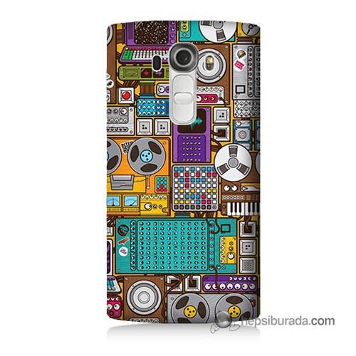 Teknomeg Lg G4 Beat Kılıf Kapak Teknoloji Baskılı Silikon