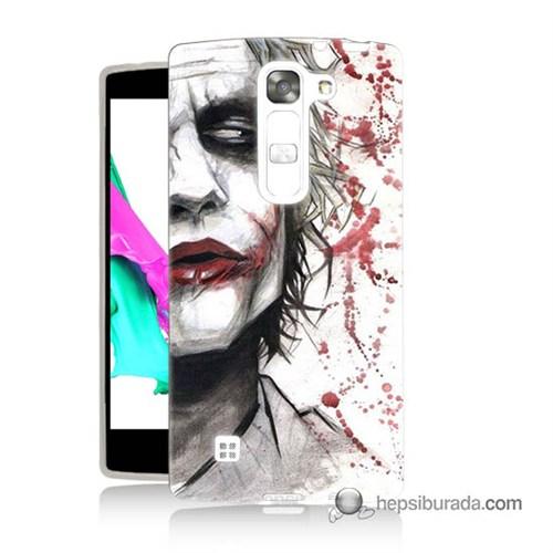 Teknomeg Lg G4c Kapak Kılıf Kanlı Joker Baskılı Silikon