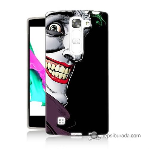 Teknomeg Lg Magna Kapak Kılıf Joker Baskılı Silikon