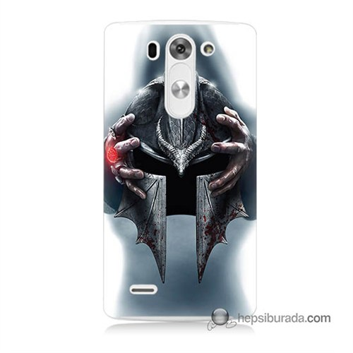 Teknomeg Lg G3 Mini Kılıf Kapak Assassins Creed Baskılı Silikon
