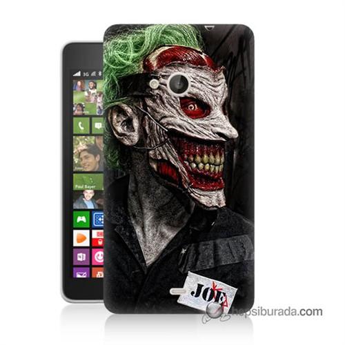 Teknomeg Nokia Lumia 535 Kapak Kılıf Joker Joe Baskılı Silikon