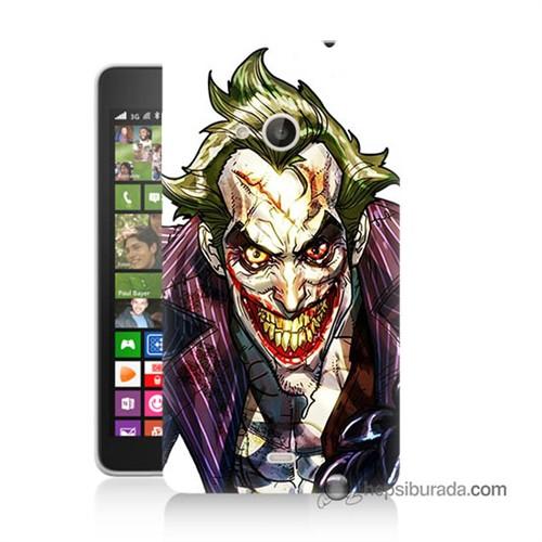 Teknomeg Nokia Lumia 535 Kapak Kılıf Joker Baskılı Silikon